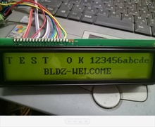 original WG20232c LCD display module lcm 5V Yellow backlight lcd LCM display 202x32 wg20232c5-YYH-V#T