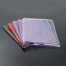 New Durable Anti Scratches TPU Silicone Tablet Case cover Transparent Ultra thin Case For Apple IPad 2/3/4