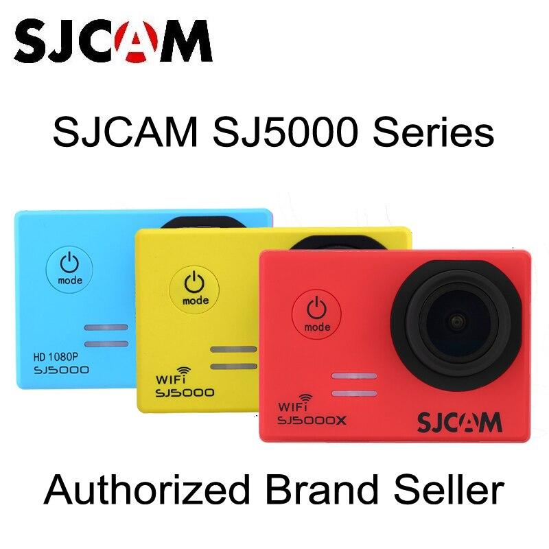 Original SJCAM SJ5000 Series SJ5000X Elite &amp; SJ5000 WIFI &amp; SJ5000 2.0 TFT LCD Action Helmet Sports DV Camera Waterproof Camera<br><br>Aliexpress