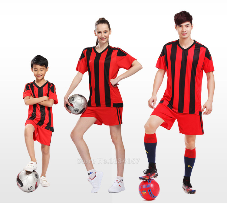 Men Customized Soccer Jerseys Adult DIY Sports Kits 17 Survetement Football Suits Training Jerseys College Soccer Uniform Sets 8