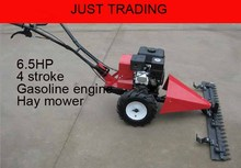 6.5HP gasoline engine hand push walking type lawn mower, hay mower,grass cutting machine