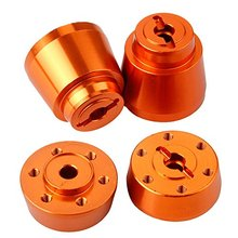 Axial Yeti Option Parts 12mm Aluminum Wheel Hex Hub Adapter Narrow / Wide Replace AX31266 For 1/10th Electric Rock Racer Crawler(China)