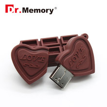 Chocolate usb flash drive usb 2.0 stick 4gb pen drive Sweet 64gb gift memoria flash card 8gb pendrive 16gb pen drive 32gb u disk