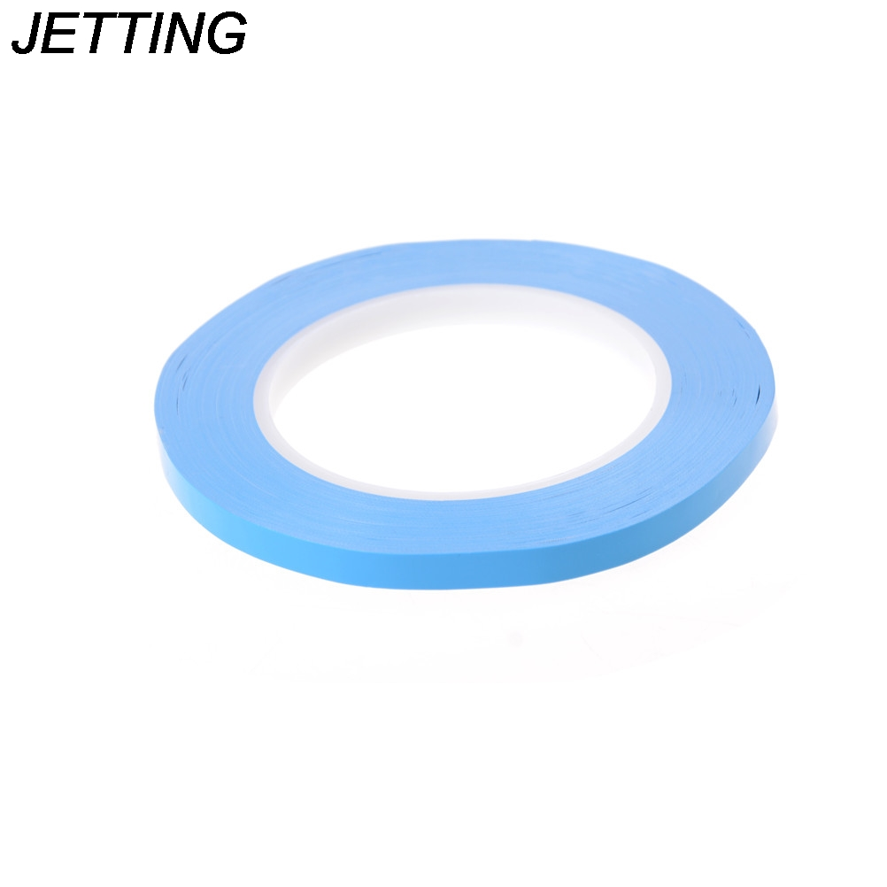 8mm*25m*0.2mm Thermal Dissipation Adhesive Tape Blue Double Sided LED Adhesive Tape for IC Cooling Fin