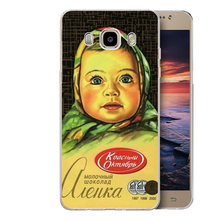 Big head doll chocolate cover Case For Samsung Galaxy A3 A5 A7 J1 J5 J7 2016 S3 S3mini S4 S4mini S5 S5mini S6 S7 edge S8 Plus(China)