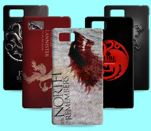 Ice and Fire Cover Relief Shell For Lenovo VIBE Z2 Pro K920 Cool Game of Thrones Phone Cases For Lenovo K900 Vibe Z K910
