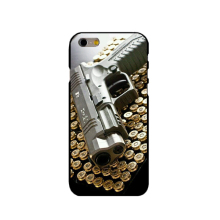 Pistolas weapon gun Bullet 4 fashion cell phone case for iphone 4 4s 5 5s  SE 6 6s  6s plus 7 7 plus