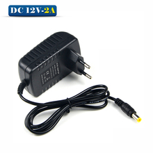 DC 12V 2A Switching Power Supply Converter Adapter EU Plug Charger lighting transformer For LED Strip CCTV Security Camera