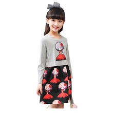 Girl Dress Spring Clothes New Pattern Children's Garment Children Long Sleeve Dress Kids Clothing(China)