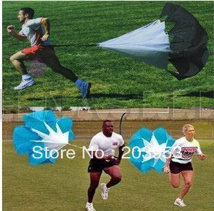 running drag parachute speed chute outdoor sporting parachute physical training equipment track field power parachute(China)