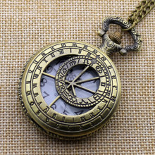 2016 New Arrival Hollow Dr Doctor Who Pocket Watch With Chain Necklace Best Gift To Women Men(China)