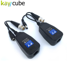 Kaycube 1CH Passive Balun RJ45 CCTV Balun Video Balun Transceiver Supply Power For HDCVI/HDTVI/AHD Analog High Definition Camera(China)