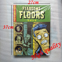 Fearsome Floors Board Game 2-7 Players Cards Games With English Instructions Easy To Play Funny Game For Party Family Gift(China)