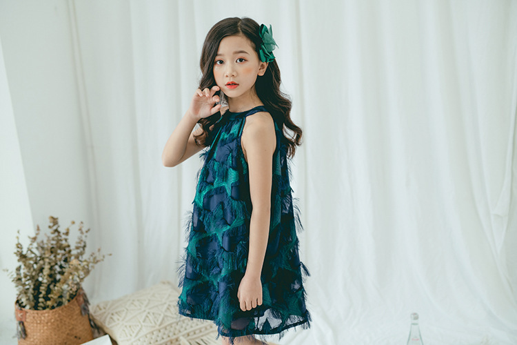 Teenage Girl Summer Dress Size 10 12 14 White Party Wedding Little Girl Dresses Princess Kids Clothes Age 4 6 8 Green Clothing 9 Online shopping Bangladesh