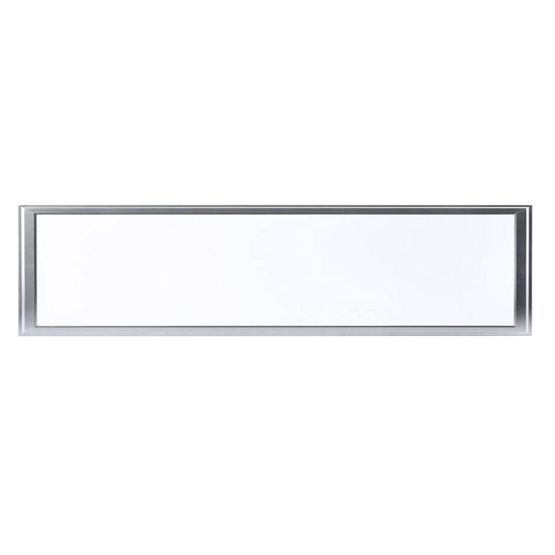 120X30cm LED Panel Light 36W Warm White(2800K) Square Recessed Lamp Pendant Lights SMD 2835 Thin Ultraslim Square LED Light Set<br>