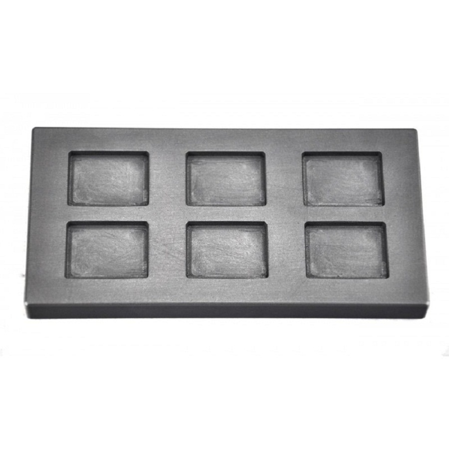 Graphite Ingot Mold    for 2oz Silver Rectangle bar casting     /Gold melting gold /   FREE SHIPPING<br>
