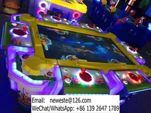 Video Arcade Catch Fish Game Machine Redemption Machine