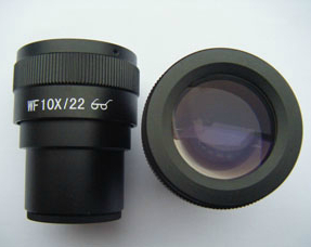 Pair of Microscope eyepiece WF10X/22mm High Eyepoint Eyepiece for Zoom Stereo Microscope with Mounting Size 30mm<br>