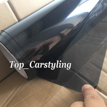 VLT 20% CAR WINDOW TINT FILM TINTING Glass Solar Tints For WHOLE Car Front / left or right windows size 1.52X30M Roll(China)