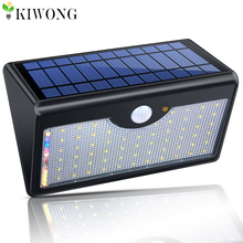 60 LED Solar Light 1300lm Super Bright Upgraded Lamp Lights For Outdoor Wall Yard Garden With Five Modes In One Solar Lamps