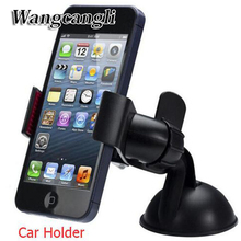 Universal Stand Car Holder Universa Car Windshield Mount Holder phone car holder For iPhone 5S 5C 5G 4S MP3 iPod GPS for Samsung