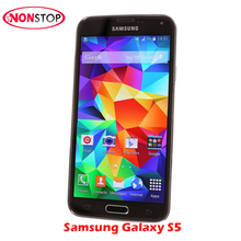 Unlocked Samsung Galaxy S5 I9600 G900F G900i G900A G900P Original Mobile 16MP Quad-core GPS WIFI Refurbished Samsung Galaxy S5(China)