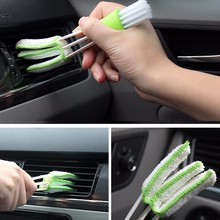 Car Cleaning Brush For Air-condition Blinds Duster Microfiber Washer Care Tools Computer Detailing Cleaner tool(China)