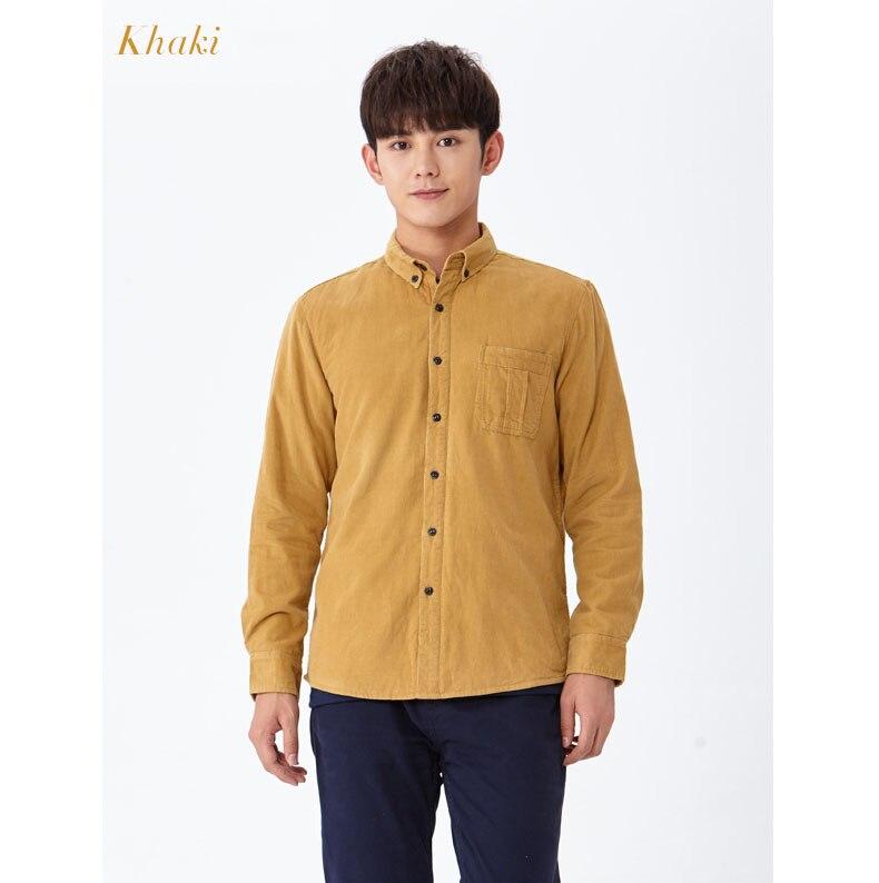 corduroy wine shirt khaki 01