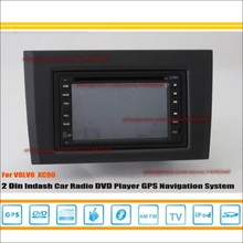 For VOLVO XC90 XC 90 2002~2013 - Radio CD DVD Player & GPS Nav Navi Navigation System / Double Din Car Audio Installation Set(China)