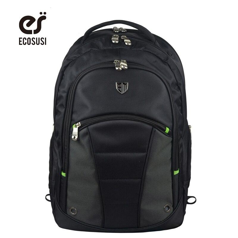 ECOSUSI Waterproof Business Backpack Nylon Travel Backpack High Quality Laptop Backpacks Travel Bag Computer Bag<br><br>Aliexpress