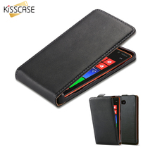 KISSCASE N820 Shell Luxury PU Leather Flip Phone Case For Nokia Lumia 820 N820 Vertical Phone Bag Cases Cover For Nokia 820