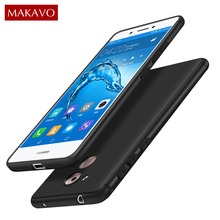 MAKAVO Cover For Huawei Honor 6C Case 360 Full Protection Soft Silicone Housing Matte For Honor 6C Nova Smart Phone Cases Coque