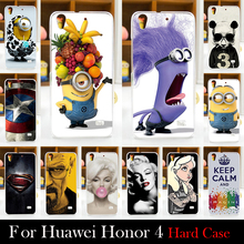 For Huawei Ascend G620S G621 Honor 4 play Case Hard Plastic Cellphone Mask Case Protective Cover Housing Skin Mask Shipping Free(China)