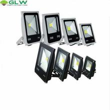 GLW Led Flood Light Outdoor Waterproof IP65 COB Lampe 50W 30W 20W 10W Spotlight LED Street refletor led projecteur led exterieur