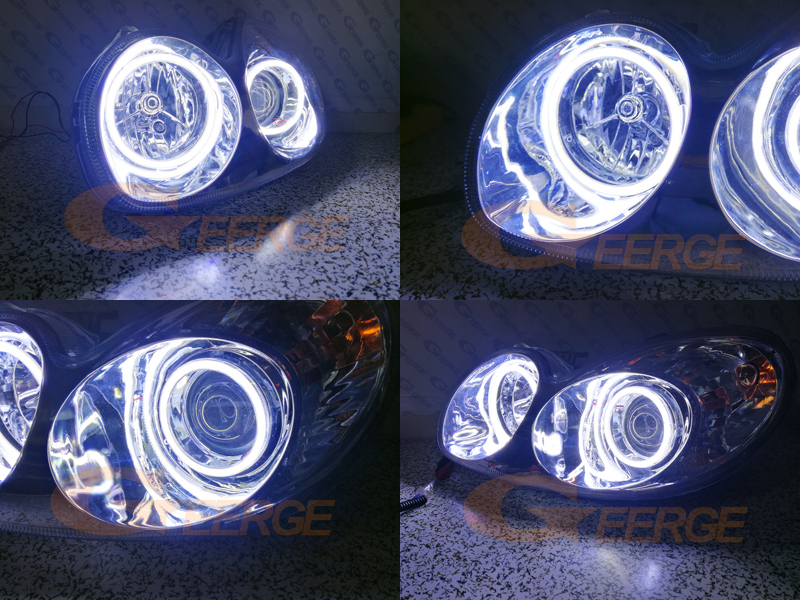 Hyundai Sonata 2002 2003 2004 2005 cob led angel eyes(5)
