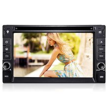 Universal 6.2 Inch Car DVD Player MP4 MP5 Radio Player Quad-Core 2 Din Android 5.1 Double Din Video Player GPS Car DVD DU6533