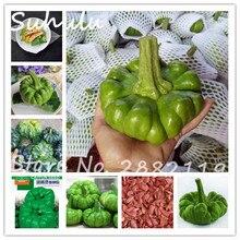 Зеленые семена цветов