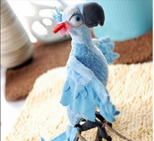 small lovely parrot toy Rio movie plush cute Jewel  toy girl parrot toy gift about 28cm