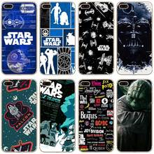 H257 Star Wars Transparent Hard Thin Case Cover For Apple iPhone 4 4S 5 5S SE 5C 6 6S 7 8 X Plus(China)