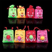 hey funny 2pc Funny creative Tricky whole person Funny novelty toys Music Laughing Bag Haha Bag
