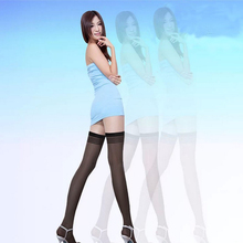 Summer 2017  Women Over The Knee High Long Solid Color Sexy Tights Thin Stocking Pantyhose Medias One Size