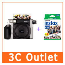 Fujifilm Instax Wide 300 Instant Camera + 20 Sheets Genuine Fuji Instax Wide Film White Edge 5 Inch Photo Paper(China)