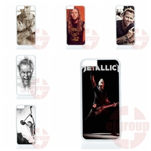For Samsung Galaxy J1 J2 J3 J5 J7 2016 Core 2 S Win Xcover Trend Duos Grand james hetfield music metallica Mobile Phone