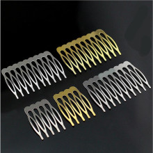 10pcs/lot Gold/Rhodium/Bronze Plated Bridal Hairpins Hair Combs Accesorio Pelo Alambre for Wedding Hair Pins Accessories Z142