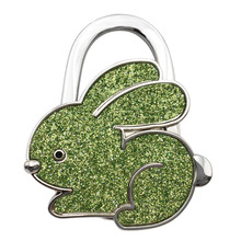 New Arrival Handbag Hook Rabbit Shaped Ladies Purse Tote Bag Holder Table Support Hanger Alloy Hook Home Supplies