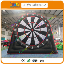 single sides 3m/10ft inflatable football soccer foot darts/giant inflatable darts boards games