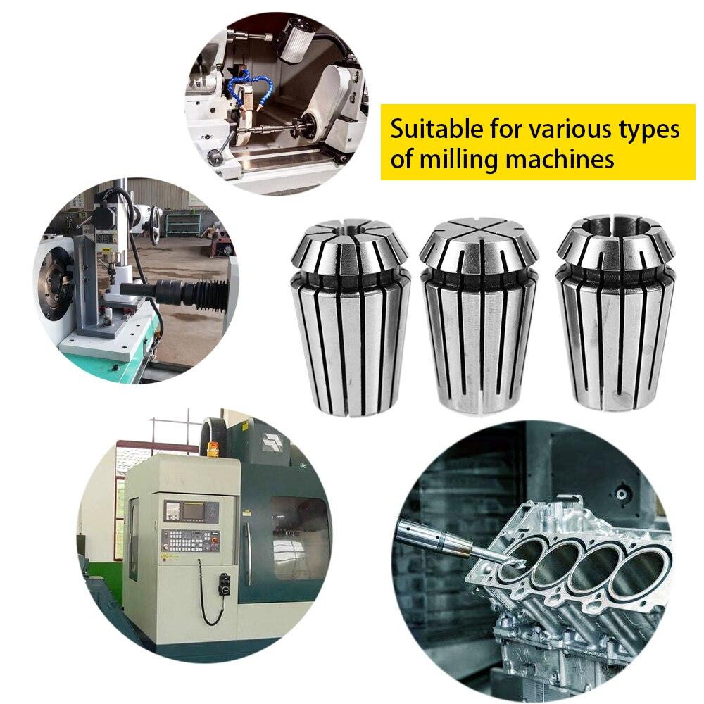 14pcs Spring Collet Set for CNC Workholding Engraving milling Lathe Tool ER20