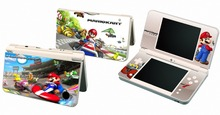 Super Mario Kart 112 Vinyl Skin Sticker Protector for Nintendo DSI XL LL for NDSI XL LL skins Stickers