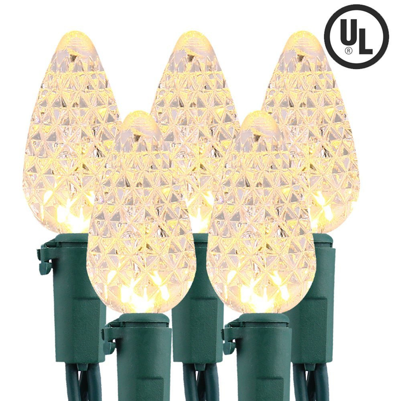 Faceted C5 LED Christmas Lights (13)