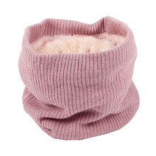 Autumn Winter Scarf For Women Men Children Baby Scarf Boys Girl Thickened Wool Warm Neck Collar Students Fashion Head Scarves